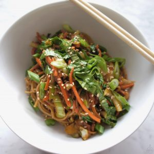 Miso Soba Noodles Recipe