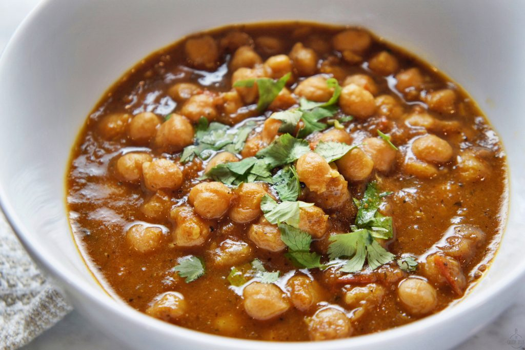 Indian Chickpea Curry Recipe