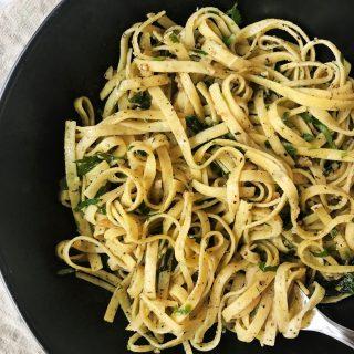 aglio e olio recipe