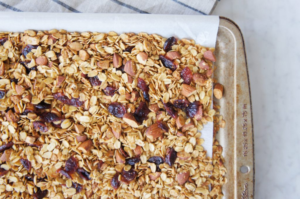Healthy Homemade Granola - The Greedy