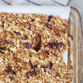 Breakfast Granola Recipe