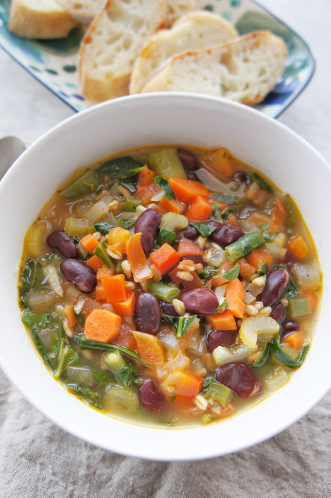 Gluten Free Minestrone Soup Recipe