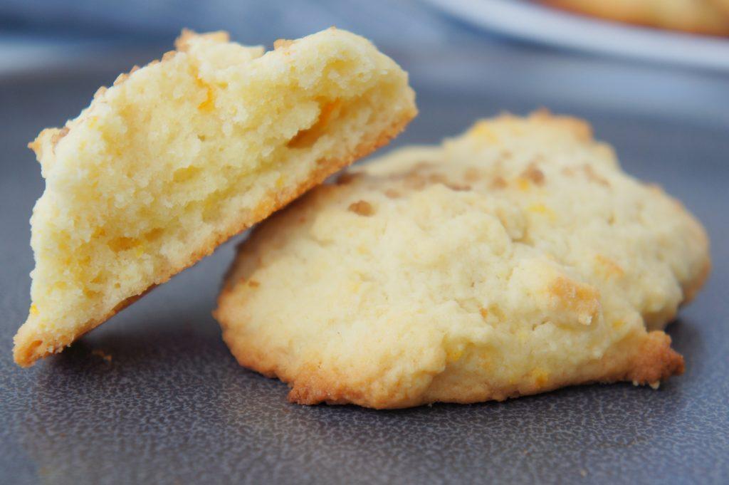 Baked Orange Zest Cookies