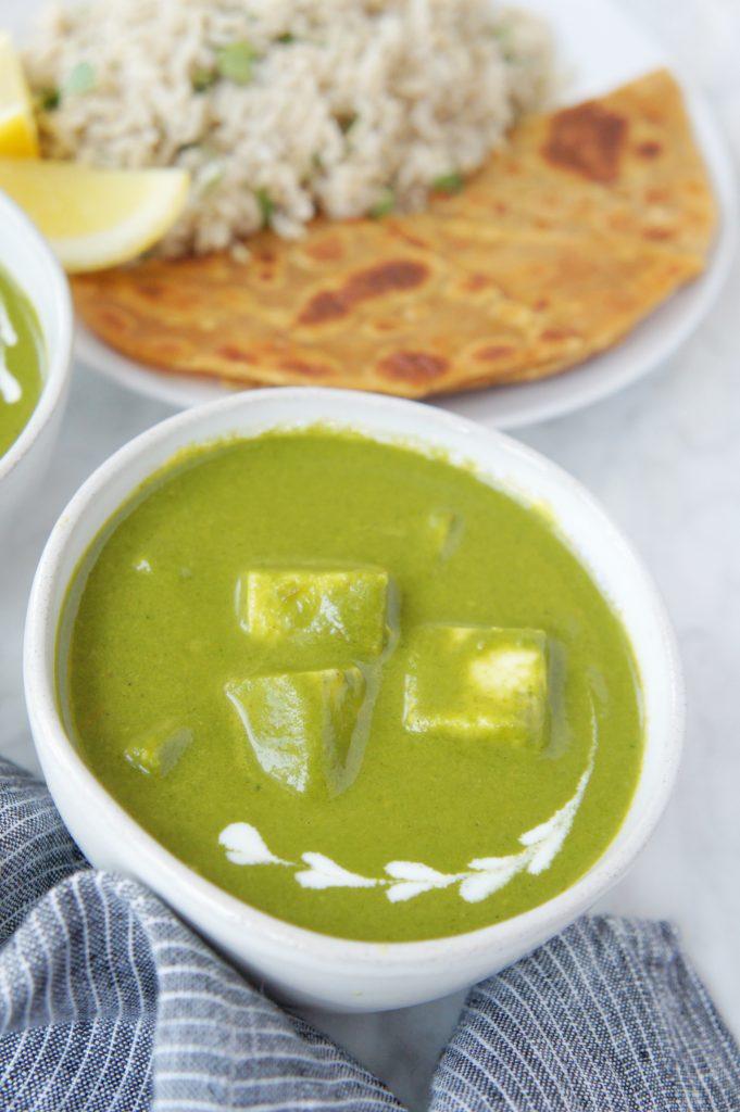 Recipe for Palak Paneer