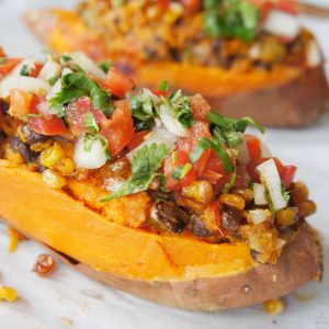 texmex sweet potatoes recipe card