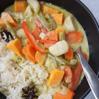 Thia Green Curry with Vegetables