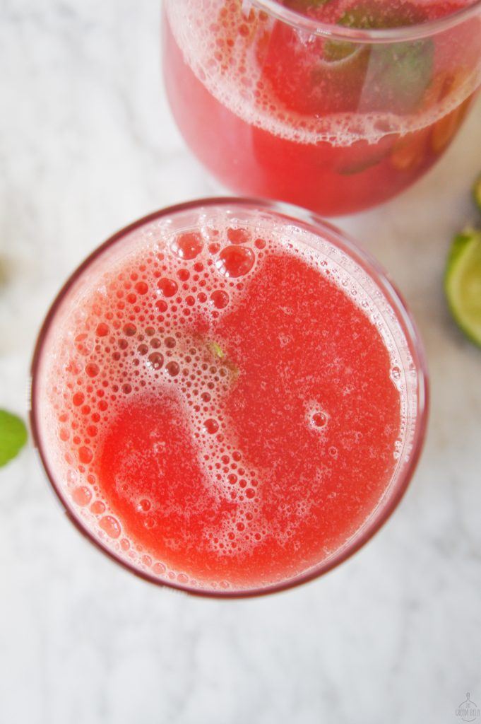 Homemade Watermelon Juice