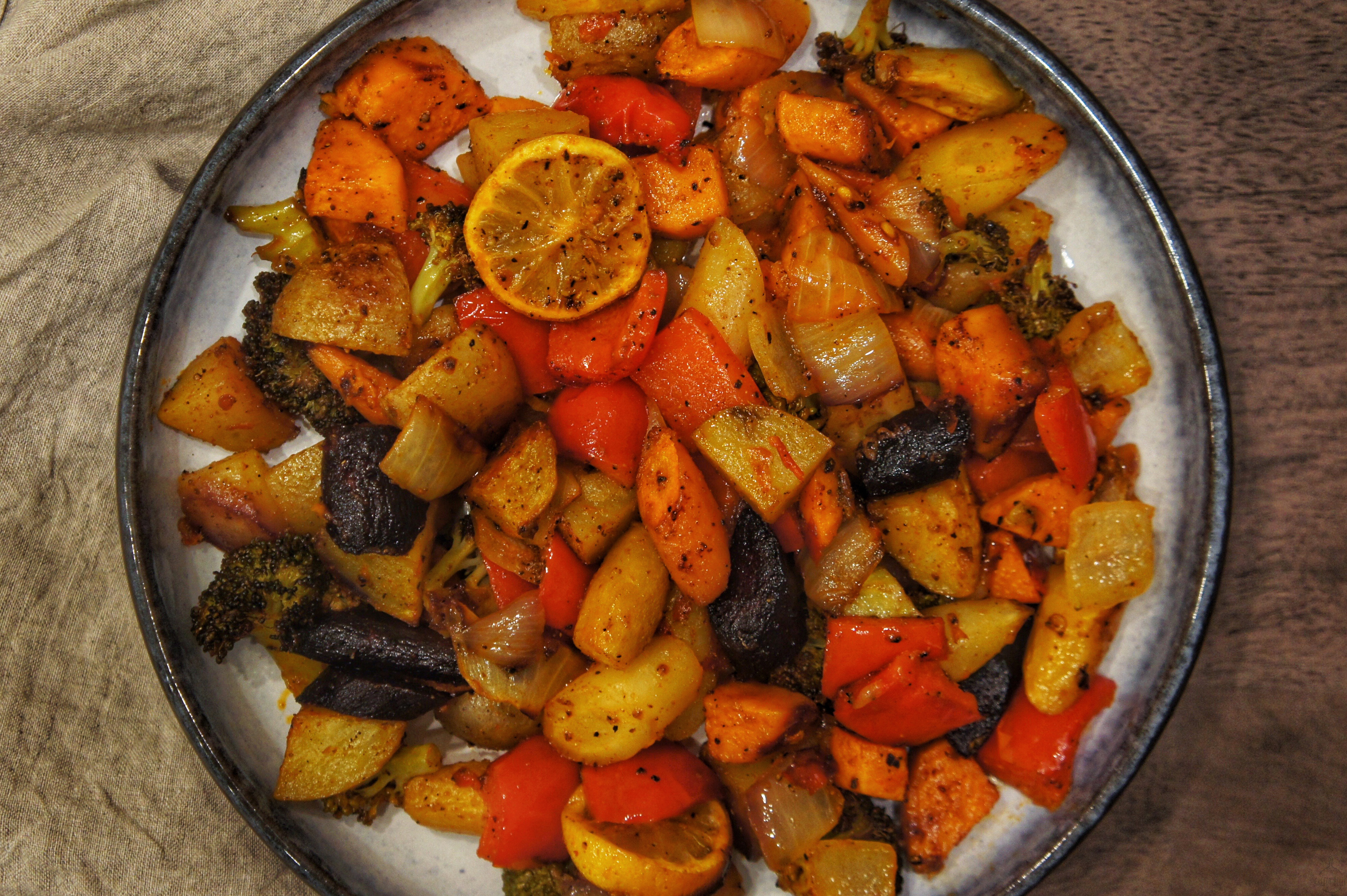 Morroccan Style Roasted Vegetables